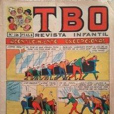 Tebeos: EL TBO Nº 736 - AÑO LV - DE BUIGAS -. Lote 156731398