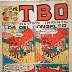 Tebeos: EL TBO Nº 732 - AÑO LV - DE BUIGAS -. Lote 156731598