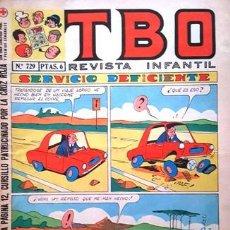 Tebeos: EL TBO Nº 729 - AÑO LV - DE BUIGAS -. Lote 156731682