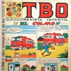 Tebeos: EL TBO Nº 728 - AÑO LV - DE BUIGAS -. Lote 156731754