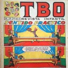 Tebeos: EL TBO Nº 737 - AÑO LV - DE BUIGAS -. Lote 156731842