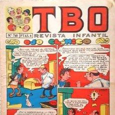 Tebeos: EL TBO Nº 740 - AÑO LV - DE BUIGAS -. Lote 156732042