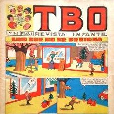 Tebeos: EL TBO Nº 741 - AÑO LV - DE BUIGAS -. Lote 156732106