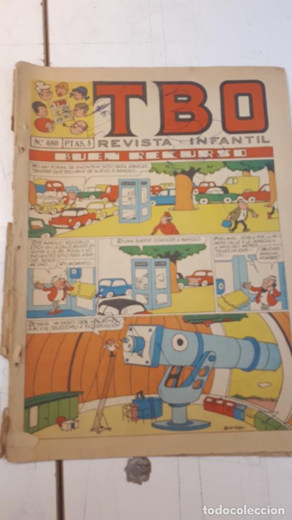 TBO, 10 NÚMEROS, (Tebeos y Comics - Buigas - TBO)