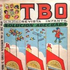 Tebeos: EL TBO Nº 703 - AÑO LV - DE BUIGAS -. Lote 158827326