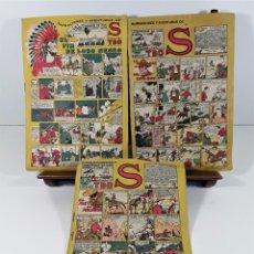 Tebeos: EDICIONES TBO. S. 3 EJEMPLARES. IMP. PONSA. BARCELONA. 1928.. Lote 159946118