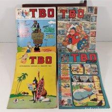 Tebeos: REVISTA JUVENIL EDICIONES TBO. 4 EJEMPLARES. BARCELONA. 1958/1988.. Lote 159951790