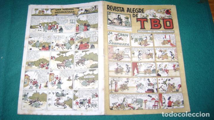 TBO TEBEO SIN NUMERAR EL 23 O 24 LA GRAN SORPRESA CJ 13 (Tebeos y Comics - Buigas - TBO)
