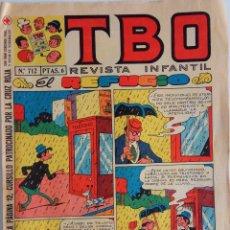 Tebeos: COLECCIÓN TBO Nº 712 - EL REFUGIO - AÑO 1971. Lote 162676762