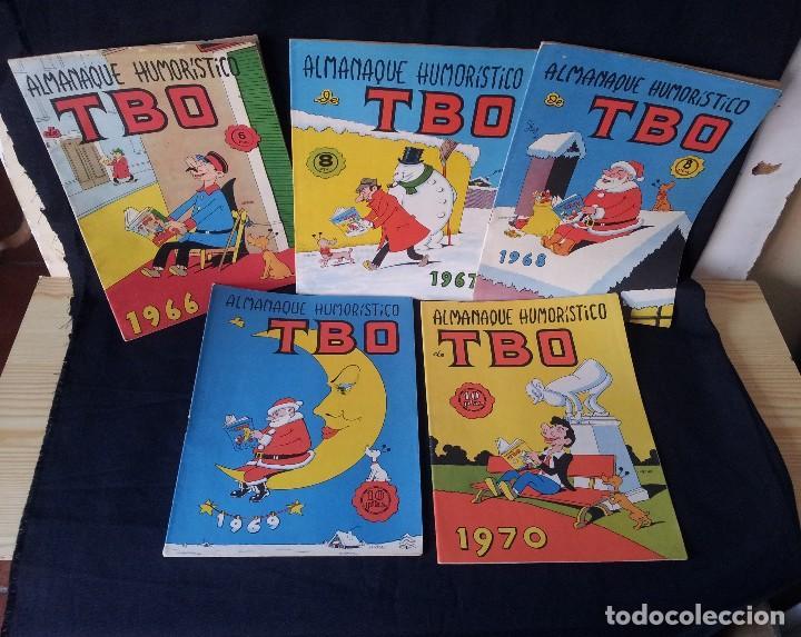 Tebeos: TBO - LOTE DE 13 ALMANAQUES HUMORÍSTICO - BUIGAS, ESTIVILL Y VIÑAS 1958 - LEER DESCRIPCION - Foto 2 - 111724731