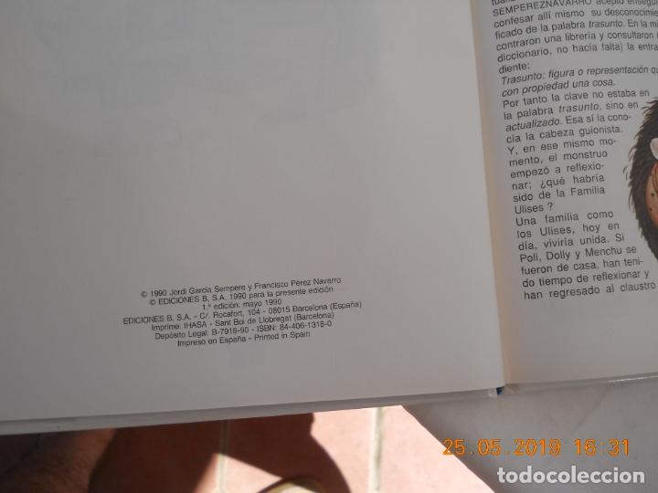 Tebeos: LOS ARCHIVOS DE TBO , LA FAMILIA ROVELLON Nº 4 1º EDICION MAYO 1990 - Foto 2 - 166431190