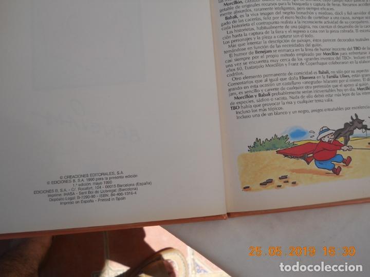 Tebeos: LOS ARCHIVOS DEL TBO , ESUTAQUI MORCILLO Y BABALI 1ª EDICION MAYO 1990 EDICIONES B - Foto 2 - 166541234