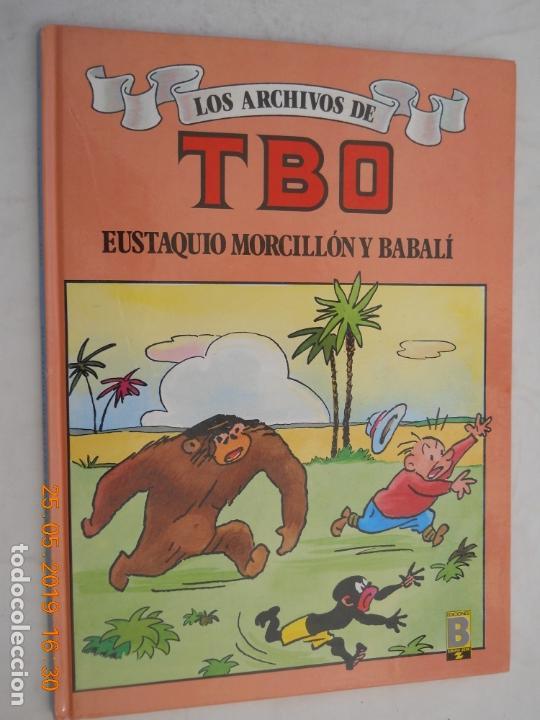 LOS ARCHIVOS DEL TBO , ESUTAQUI MORCILLO Y BABALI 1ª EDICION MAYO 1990 EDICIONES B (Tebeos y Comics - Buigas - TBO)