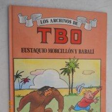 Tebeos: LOS ARCHIVOS DEL TBO , ESUTAQUI MORCILLO Y BABALI 1ª EDICION MAYO 1990 EDICIONES B . Lote 166541234