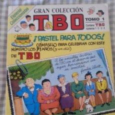 Tebeos: GRAN COLECCION TBO 1-4 , RETAPADO 1988. Lote 167544664