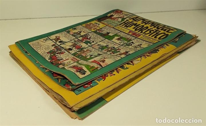 Tebeos: EDICIONES TBO. 7 EJEMPLARES. EDIT. BUIGAS. BARCELONA. 1928/1954. - Foto 2 - 167806653