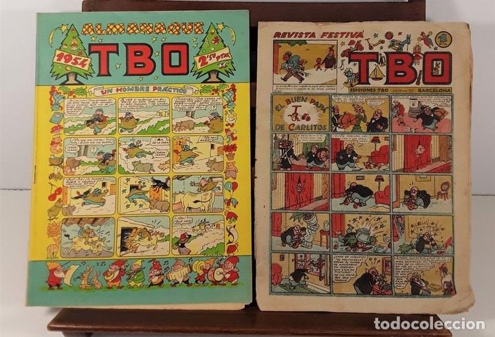 Tebeos: EDICIONES TBO. 7 EJEMPLARES. EDIT. BUIGAS. BARCELONA. 1928/1954. - Foto 4 - 167806653