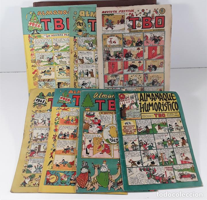 EDICIONES TBO. 7 EJEMPLARES. EDIT. BUIGAS. BARCELONA. 1928/1954. (Tebeos y Comics - Buigas - TBO)