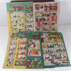 Tebeos: EDICIONES TBO. 7 EJEMPLARES. EDIT. BUIGAS. BARCELONA. 1928/1954.. Lote 167806653