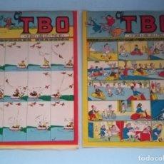Tebeos: DOS TBO 2437 Y 2438. BUIGAS, ESTIVIL Y VIÑA. 1981 #JL. Lote 167859844