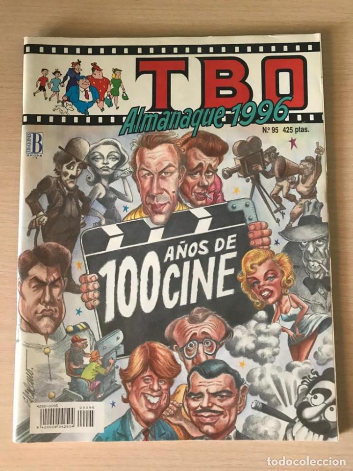 TBO ALMANAQUE 1996 - 100 AÑOS DE CINE - ORIGINAL EN MUY BUEN ESTADO (Tebeos y Comics - Buigas - TBO)