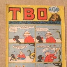 Tebeos: TBO EXTRA 30 PTS: AVENTURAS DE MORCILLON Y BABALI , BUEN ESTADO GENERAL. Lote 169464080