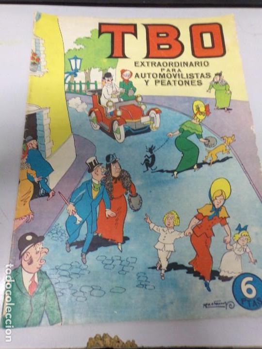 TBO / EXTRAORDINARIO PARA AUTOMOVILISTAS Y PEATONES -1964 (Tebeos y Comics - Buigas - TBO)