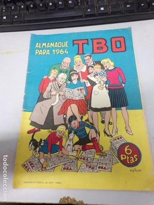 ALMANAQUE TBO PARA 1964. 6 PTAS (Tebeos y Comics - Buigas - TBO)