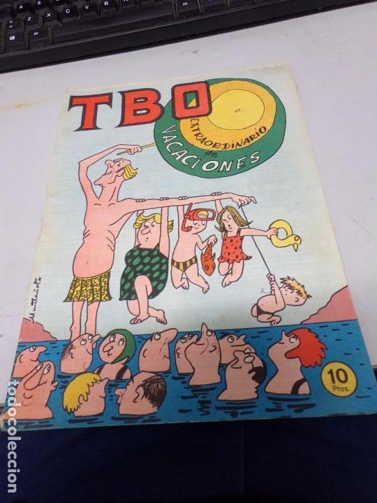 TBO EXTRAORDINARIO DE VACACIONES PARA 1958 (Tebeos y Comics - Buigas - TBO)