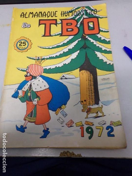 ALMANAQUE HUMORÍSTICO 1972 TBO (Tebeos y Comics - Buigas - TBO)