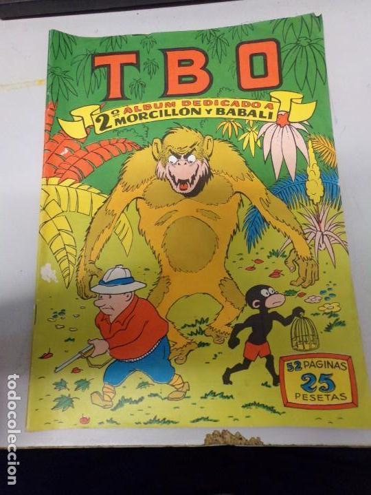 TBO EXTRA MORCILLON Y BABALI 2º ALBUM (Tebeos y Comics - Buigas - TBO)