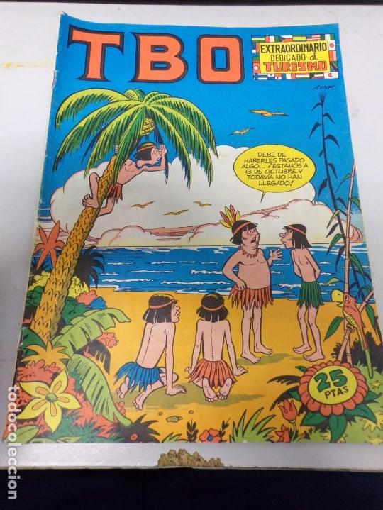 TBO EXTRAORDINARIO DEDICADO AL TURISMO (Tebeos y Comics - Buigas - TBO)