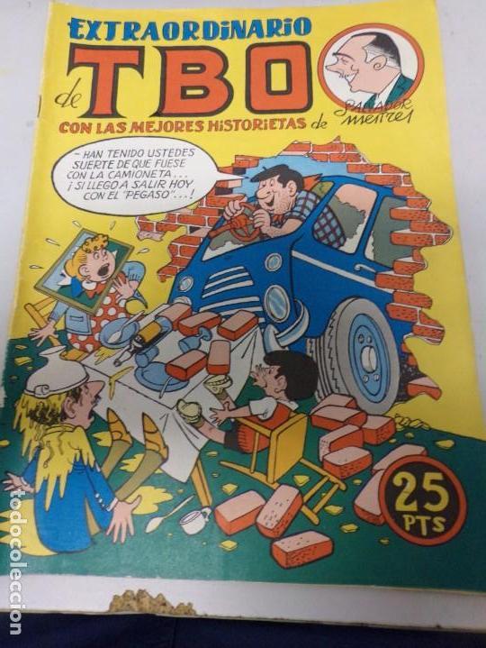 EXTRAORDINARIO DE TBO LAS MEJORES HISTORIETAS DE SALVADOR MESTRES (Tebeos y Comics - Buigas - TBO)