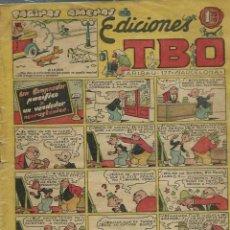 Tebeos: TBO SIN NUMERAR - PAGINAS AMENAS - UN COMPRADOR PACIFICO... - BUIGAS 1951 - ORIGINAL. Lote 170113744