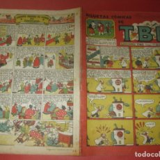 Tebeos: TBO SILUETAS COMICAS. SIN NUMERAR POSIBLE Nº 28.. Lote 171011215
