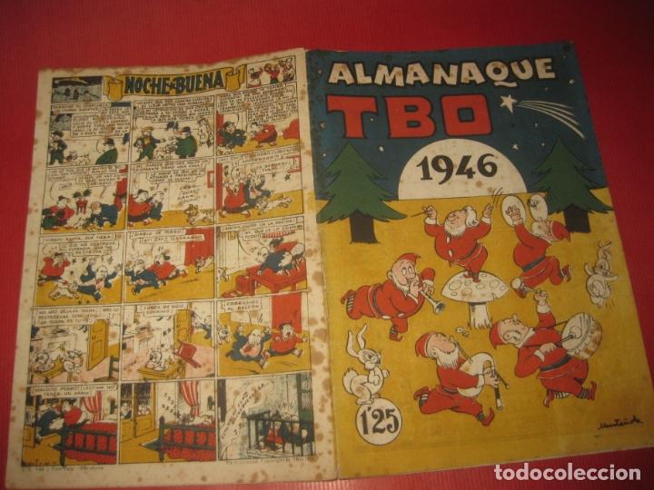 ALMANAQUE TBO 1946. (Tebeos y Comics - Buigas - TBO)