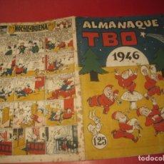 Tebeos: ALMANAQUE TBO 1946.. Lote 171016722