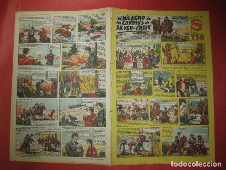 EPISODIOS Y AVENTURAS DE S. EDICIONES TBO. EL MILAGRO DE LOS COYOTES DE SILVER-CREEK (Tebeos y Comics - Buigas - TBO)