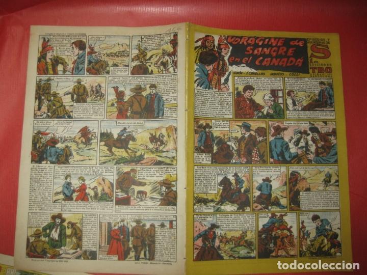 EPISODIOS Y AVENTURAS DE S. EDICIONES TBO. VORAGINE DE SANGRE EN EL CANADA. (Tebeos y Comics - Buigas - TBO)