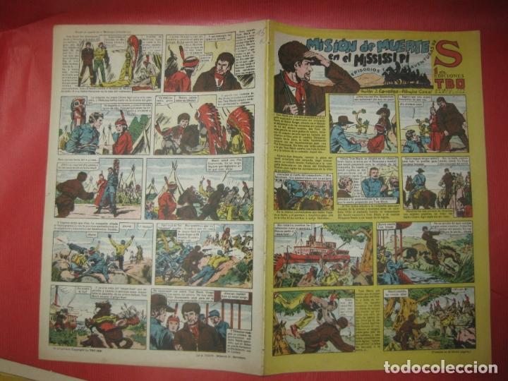 EPISODIOS Y AVENTURAS DE S. EDICIONES TBO. MISION DE MUERTE EN EL MISSISIPI. (Tebeos y Comics - Buigas - TBO)