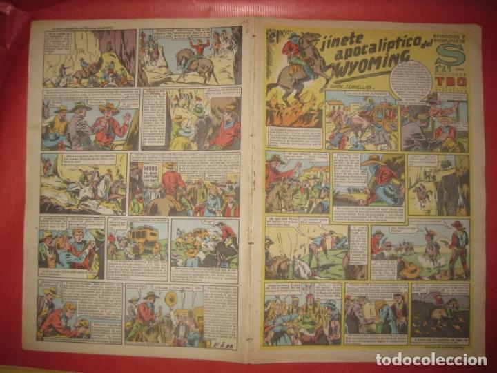 EPISODIOS Y AVENTURAS DE S. EDICIONES TBO. EL JINETE APOCALIPTICO DEL WYOMING. (Tebeos y Comics - Buigas - TBO)