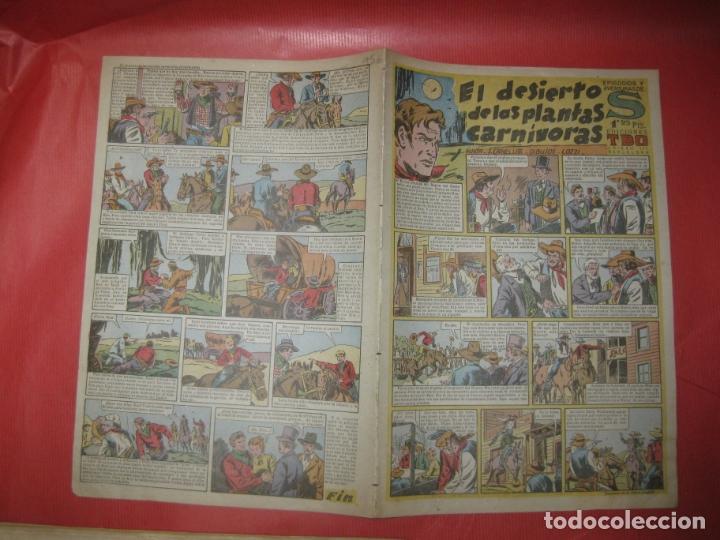 EPISODIOS Y AVENTURAS DE S. EDICIONES TBO. EL DESIERTO DE LAS PLANTAS CARNIVORAS. (Tebeos y Comics - Buigas - TBO)