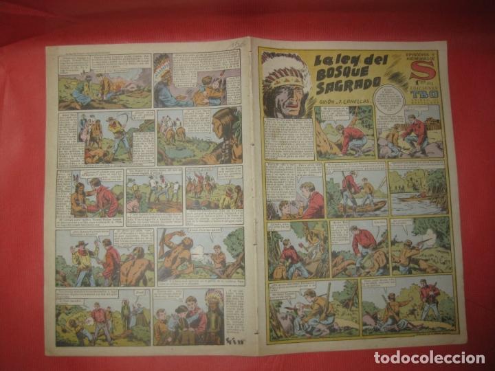 EPISODIOS Y AVENTURAS DE S. EDICIONES TBO. LA LEY DEL BOSQUE SAGRADO. (Tebeos y Comics - Buigas - TBO)