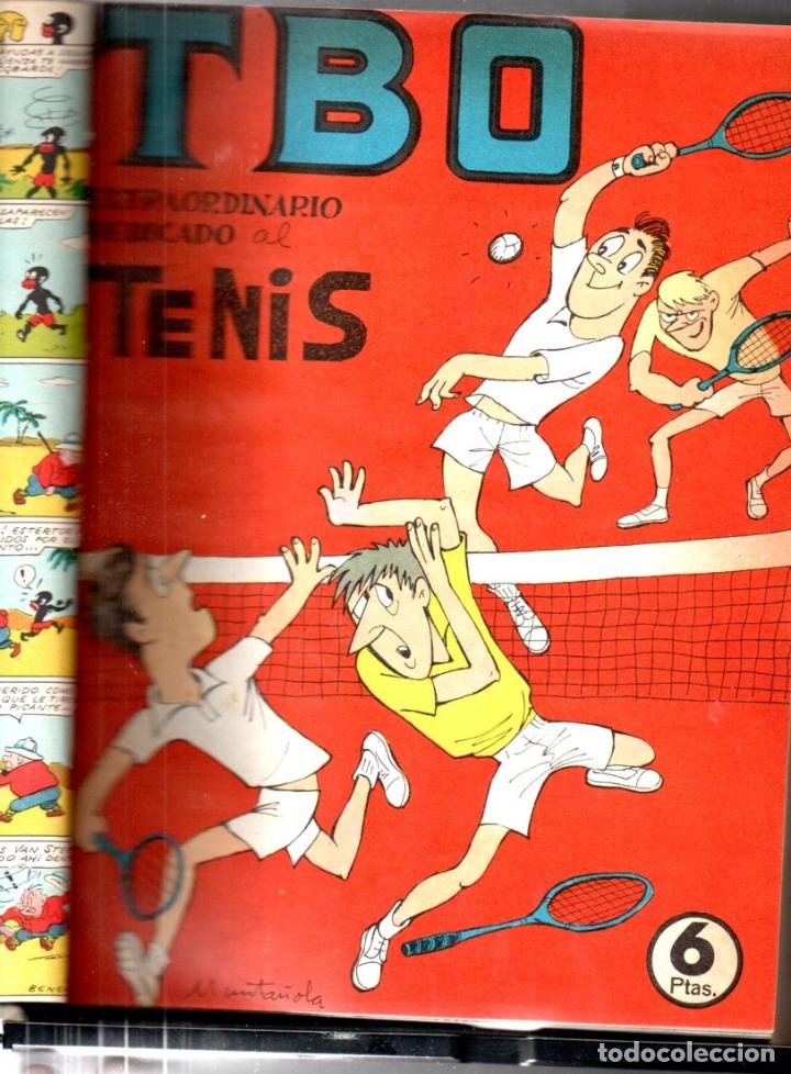 Tebeos: 52 TBO ENCUADERNADOS AÑO 1966 - INCLUYE ALMANAQUE Y EXTRAS - Foto 4 - 171782993