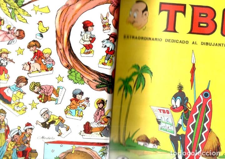 52 TBO ENCUADERNADOS AÑO 1966 - INCLUYE ALMANAQUE Y EXTRAS (Tebeos y Comics - Buigas - TBO)