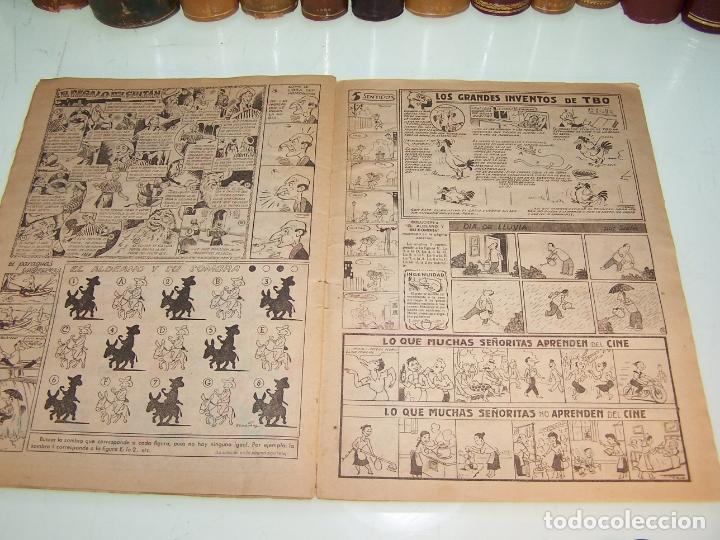 Tebeos: Almanaque humorístico para 1954. TBO. Grado de conservación: 7/10. - Foto 2 - 172243963