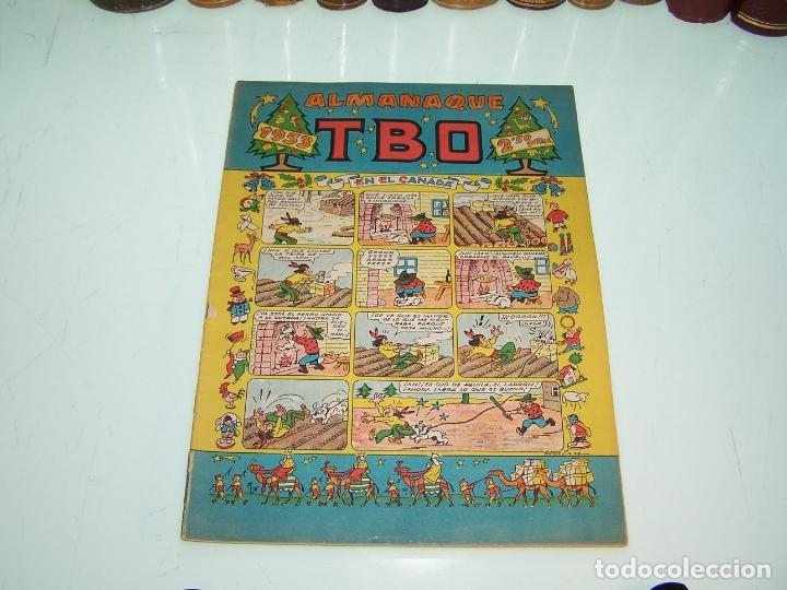 ALMANAQUE HUMORÍSTICO PARA 1953. TBO. GRADO DE CONSERVACIÓN: 8/10. (Tebeos y Comics - Buigas - TBO)