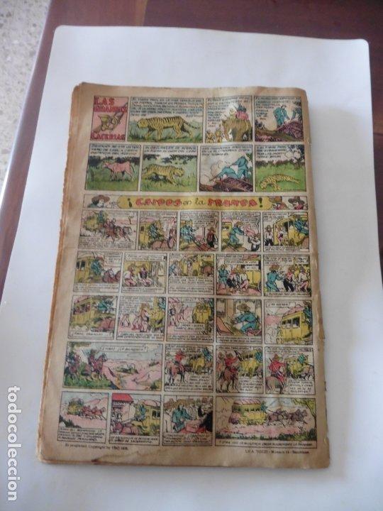 Tebeos: S.EDICIONES TBO AÑO 1947 RED EL PIRATA ORIGINAL - Foto 2 - 172682664