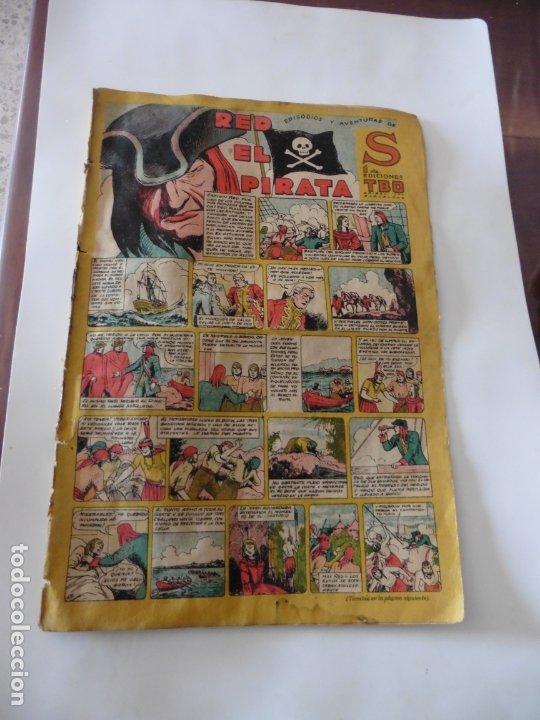 S.EDICIONES TBO AÑO 1947 RED EL PIRATA ORIGINAL (Tebeos y Comics - Buigas - Otros)