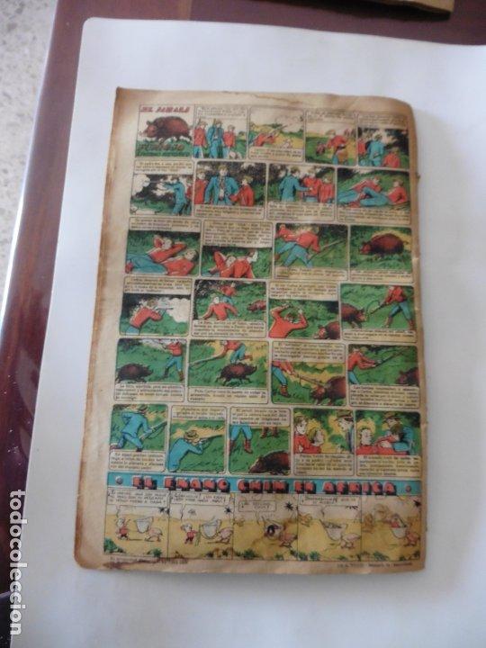 Tebeos: S.EDICIONES TBO AÑO 1947 EL RESCATE DEL GASNSTER ORIGINAL - Foto 2 - 172682770